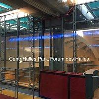 Centr'Halles Park équipements