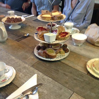 Fabulous Scouse Experience Afternoon Tea at Fodder Canteen. All part of the tour folks!
