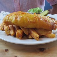Cod and chips Seabreeze style