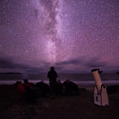 Listen to starry stories while you breathe in the Milky Way