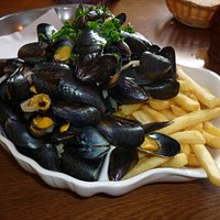 Moules et Frites extra grande!