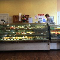Delicious baked goods at didier Dumas in Nyack. Definetly the best in the county lots of butter,