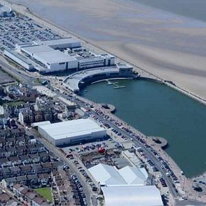 Indoors and outside locations marine lake new BrightonMarine lake and leasowe bay indoors at Eur