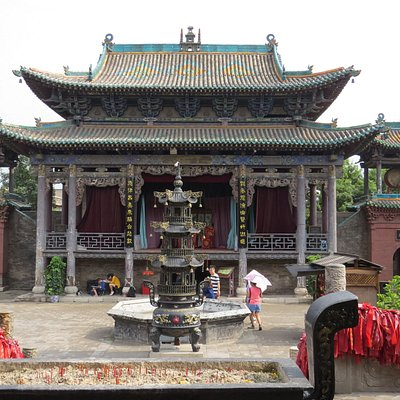 Hall of the City God Temple