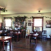 quaint dining area
