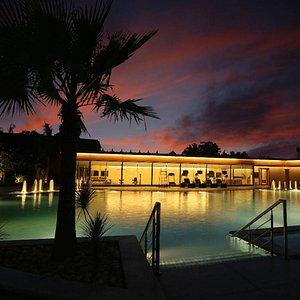 Indriya Spa pool view