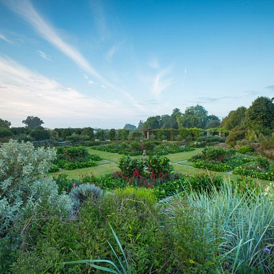 The Great Plat's planting scheme was designed by Gertrude Jekyll