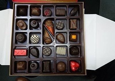 すごい綺麗なチョコレート