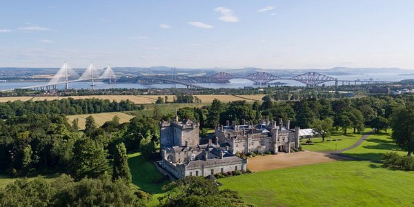Dundas Castle view over the Forth River - Itago Media
