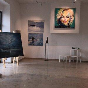 Die Lindenhof Galerie im Stift Millstatt.