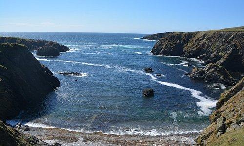 St. Ninian's Isle - Pretty Inlet.
