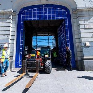 O dia zero da obra de restauro e modernização do Mercado do Bolhão