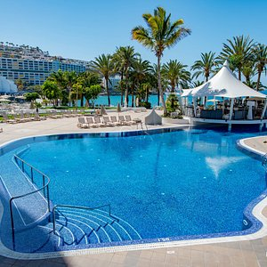 The Freshwater Swimming Pool at the Radisson Blu Resort, Gran Canaria