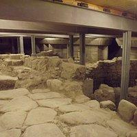 Sito archeologico sotto il teatro