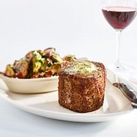 Filet Mignon with Brussels Sprouts
