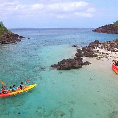 Les îlets Pigeon en kayak