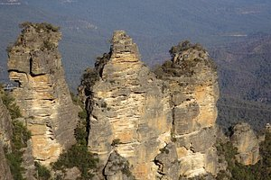 The Three Sisters at Echo Point, Katoomba - A Magnificant View!