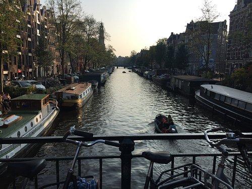 Prinsengracht- Canal del Prìncipe- Amsterdam- Holanda 2017.