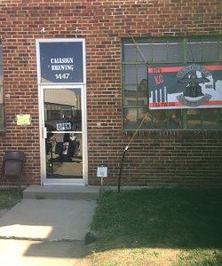Front entrance to Callsign Brewing co.