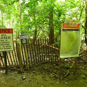 Trail closed from P St to Canal Road since Aug 2016 (about 1/3 mile)