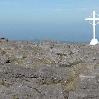 Top of Galtymore looking north.