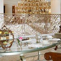 Sidra, meaning 'heavenly tree' in Arabic, is the lounge serving fine tea blends