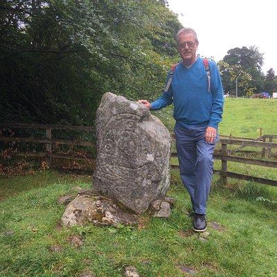 Eagle Stone in Strathpeffer