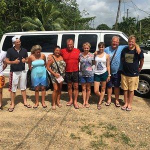 Day trip at chocolate farm and maya king waterfalls