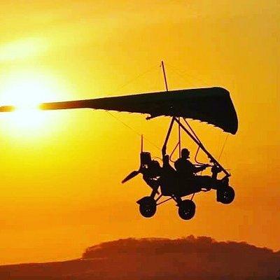 Sunset Flight over Kwa Madwala