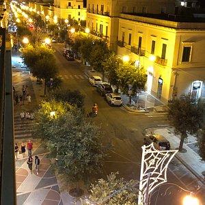 Corso Roma di notte