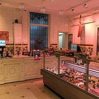 Butcher's shop (entrance to restaurant)