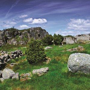 Hillfort Borgaråsen, Magma Geopark location nr 15