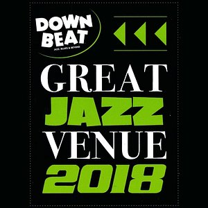 Downbeat selected us as a Great Jazz Venue 2018 - thank you