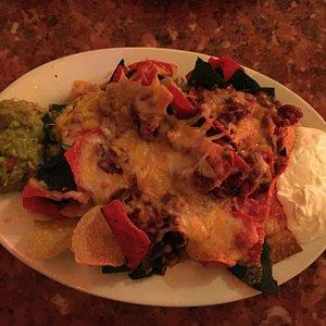 Tex Mex nachos