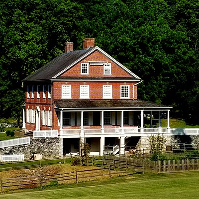 View of Rock Ford Plantation, the historic home of General Edward Hand