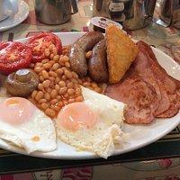 Proper cooked breakfast.