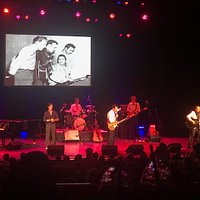 One Night in Memphis show ... Presley, Perkins, Lewis and Cash