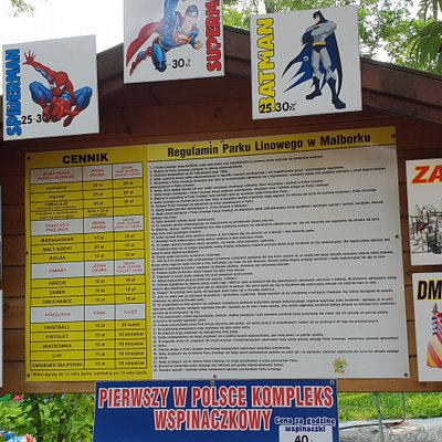 Offers of the park