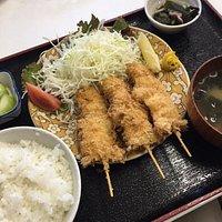 海鮮串揚げ定食950円