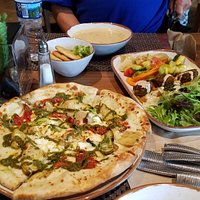 Crete flatbread and Taste of Canaan highly recommended