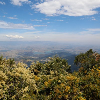Visão do cume - Rio Paraíba