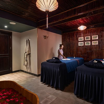 Relax & rejuvenate in a beautiful private treatment room.