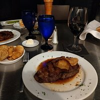 Rib eye steak at Ely's