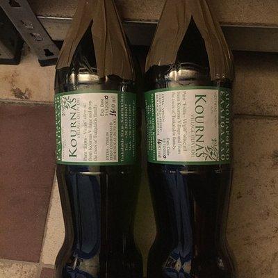 On pense acheter une bouteille d'huile d'olive mais c'est en fait une bouteille de Coca Cola rec