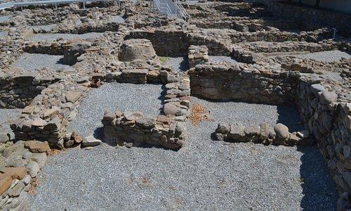 Προϊστορική πόλη της Μύρινας - ένα καμίνι αγγειοπλαστικής