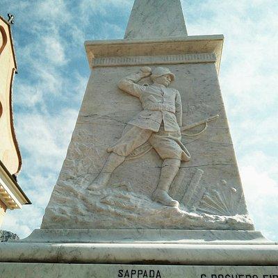 Monumento ai Caduti di Sappada Plodn