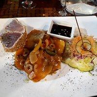 de tonijn
