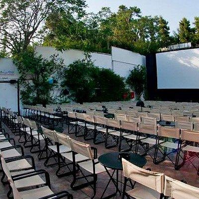 Outdoor Cinema near Mount Lycabettus
