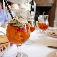 tea with pimms