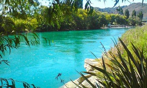 Clyde - Alexandra river trail, Central Otago, New Zealand